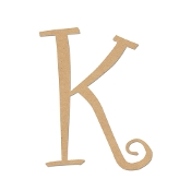 Greek Curly Letter Kappa