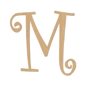 Greek Curly Letter Mu
