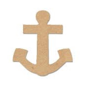 Shapes - Anchor (MDF) 8.3x9