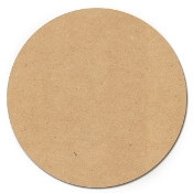 MDF Wooden Circle 10""