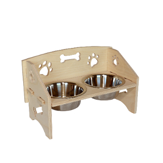 Dog Bowl Stand (Small)