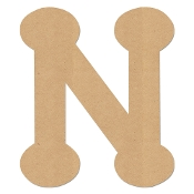 Greek Bubble Letter Nu