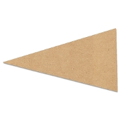 Shapes - Pennant (MDF) 13.4x7.5