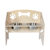 Dog Bowl Stand (Medium)